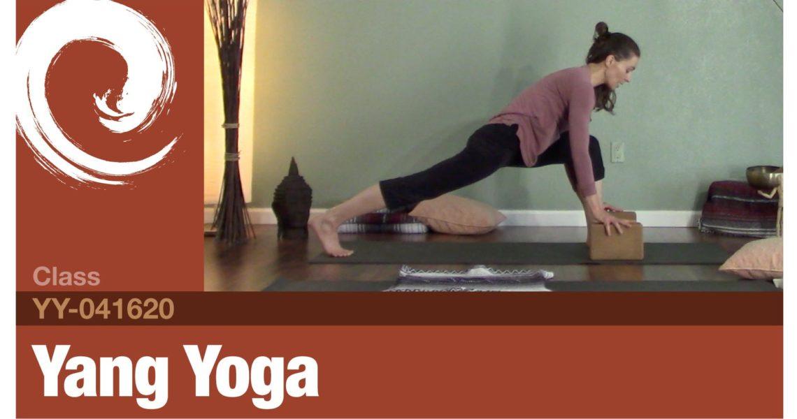 Yang Yoga • 04-16-20