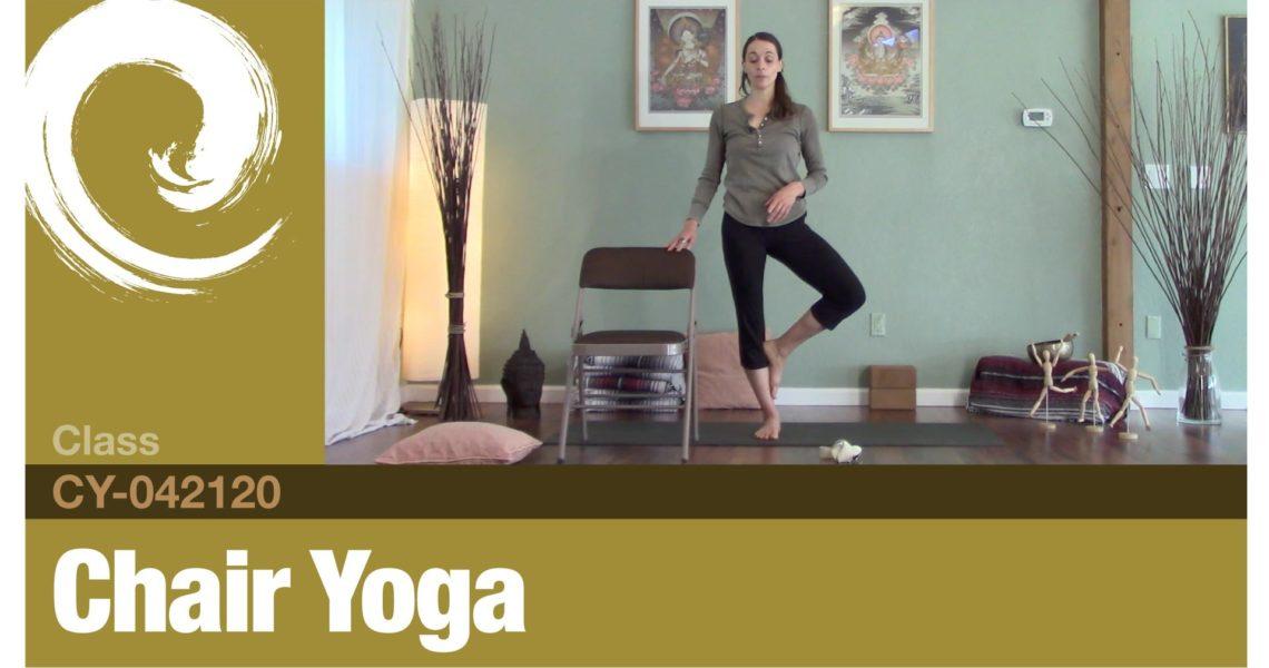 Chair Yoga • 04-21-20