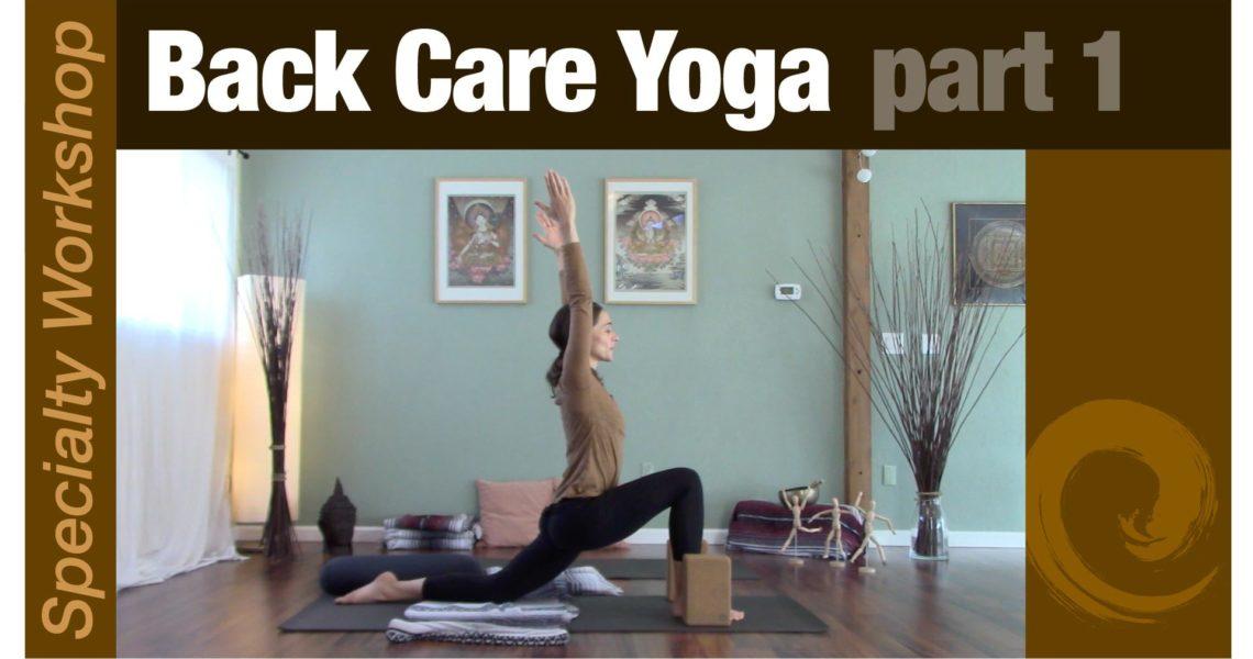 Workshop: Back Care Yoga pt.1