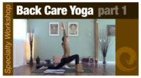 Specialty Workshop: Back Care Yoga pt.1 - Vimeo thumbnail