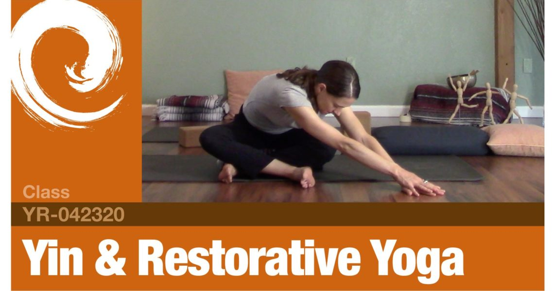 Yin & Restorative Yoga • 04-23-20