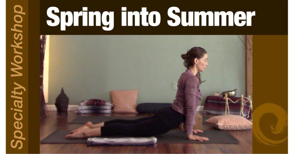 Workshop: Spring into Summer