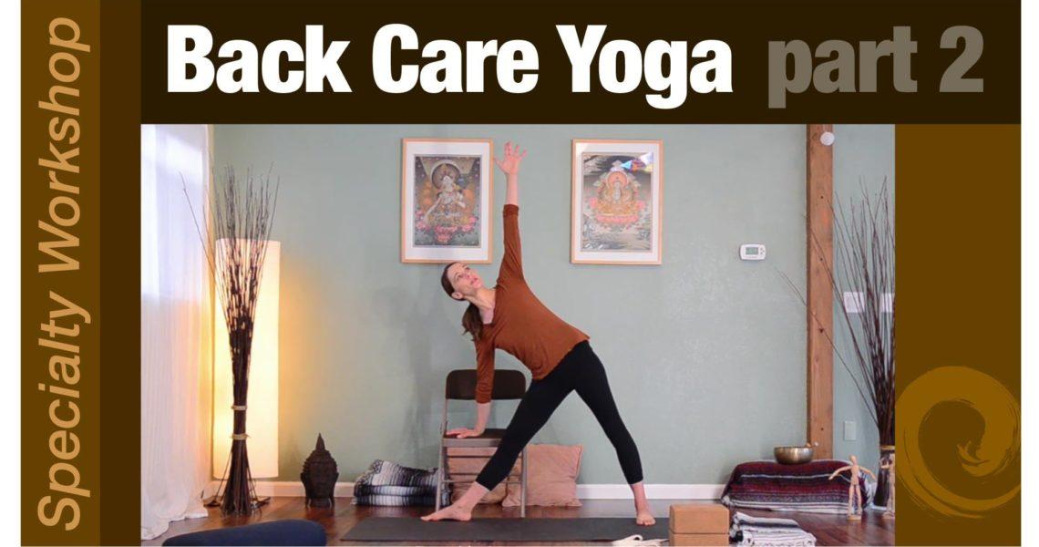 Workshop: Back Care pt. 2