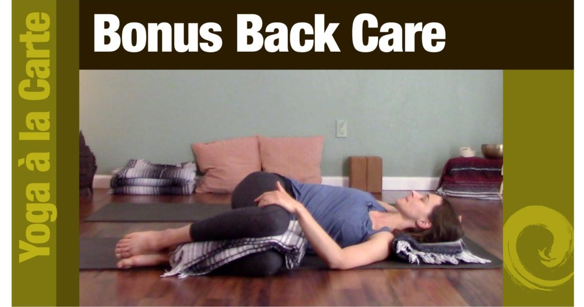Bonus Back Care