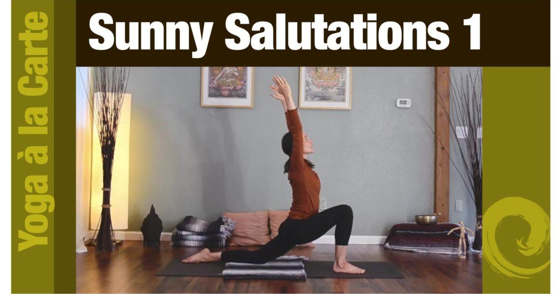 Sunny Salutations 1