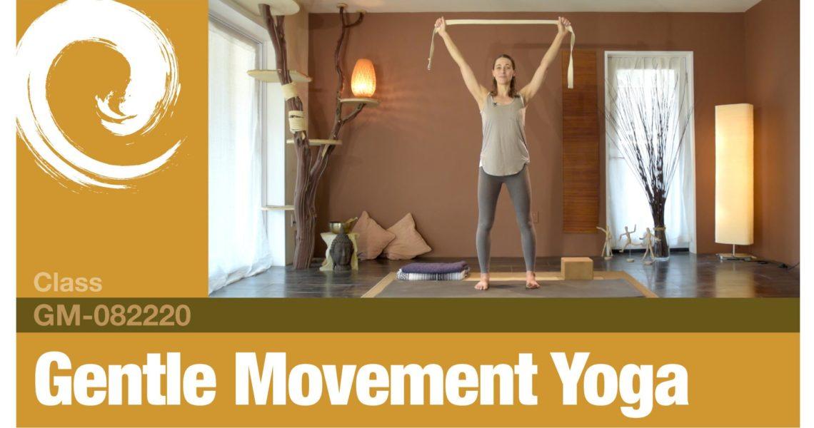 Gentle Movement Yoga • 08-22-20
