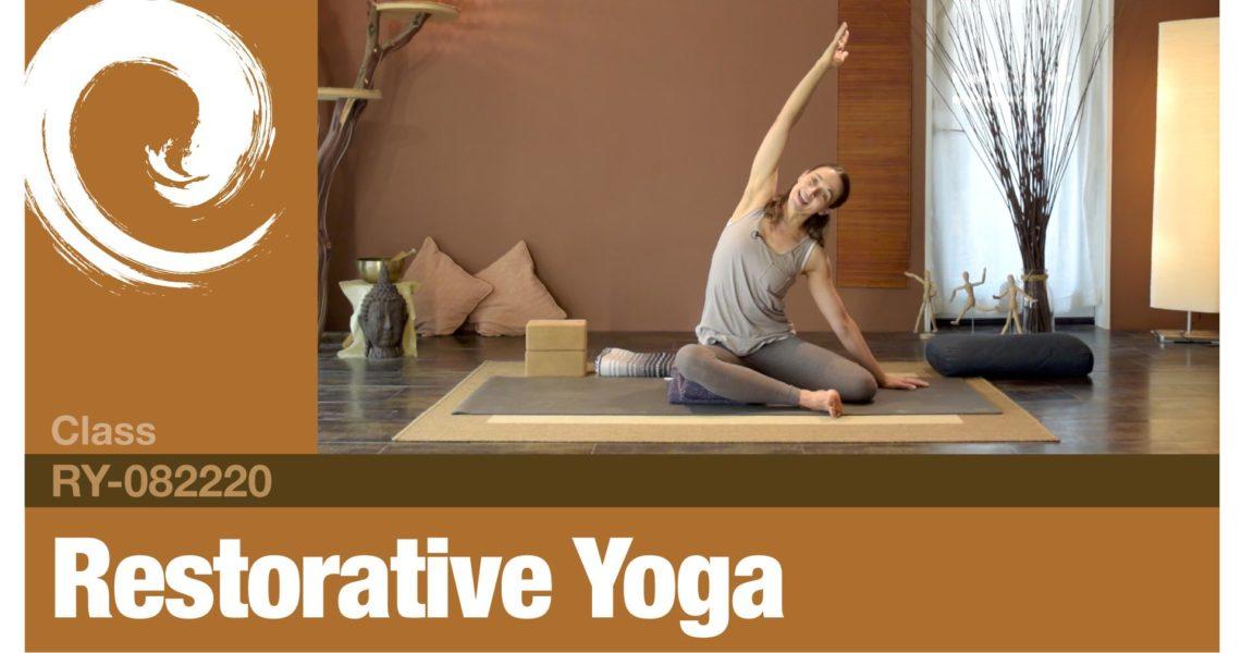 Restorative Yoga • 08-23-20