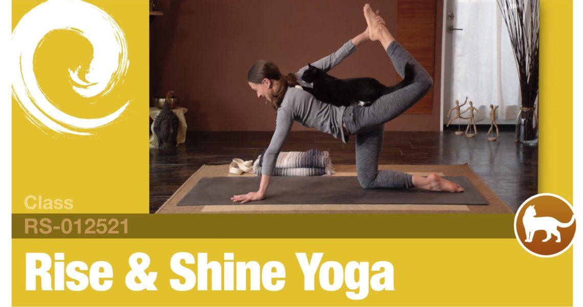 Rise & Shine Yoga • 01-25-21