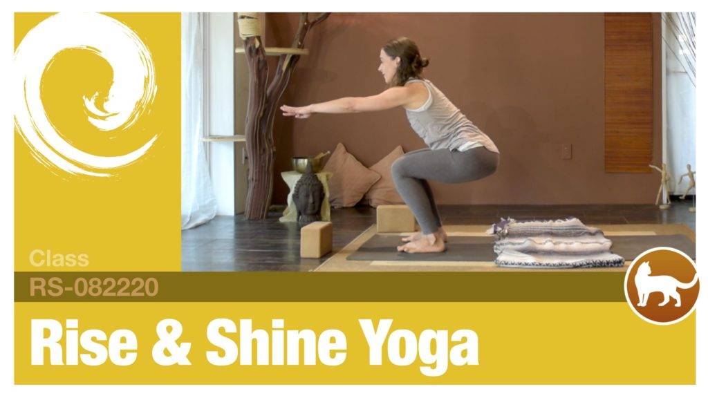 Rise & Shine Yoga • 08-22-20