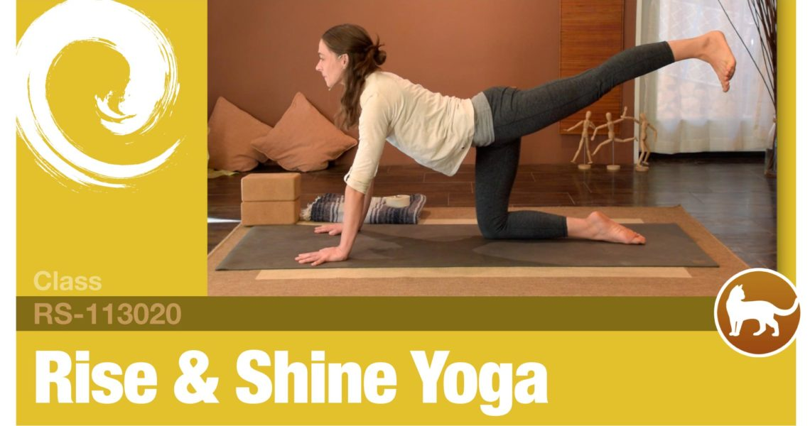 Rise & Shine Yoga • 11-30-20
