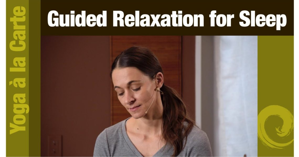 Guided Relaxation for Sleep