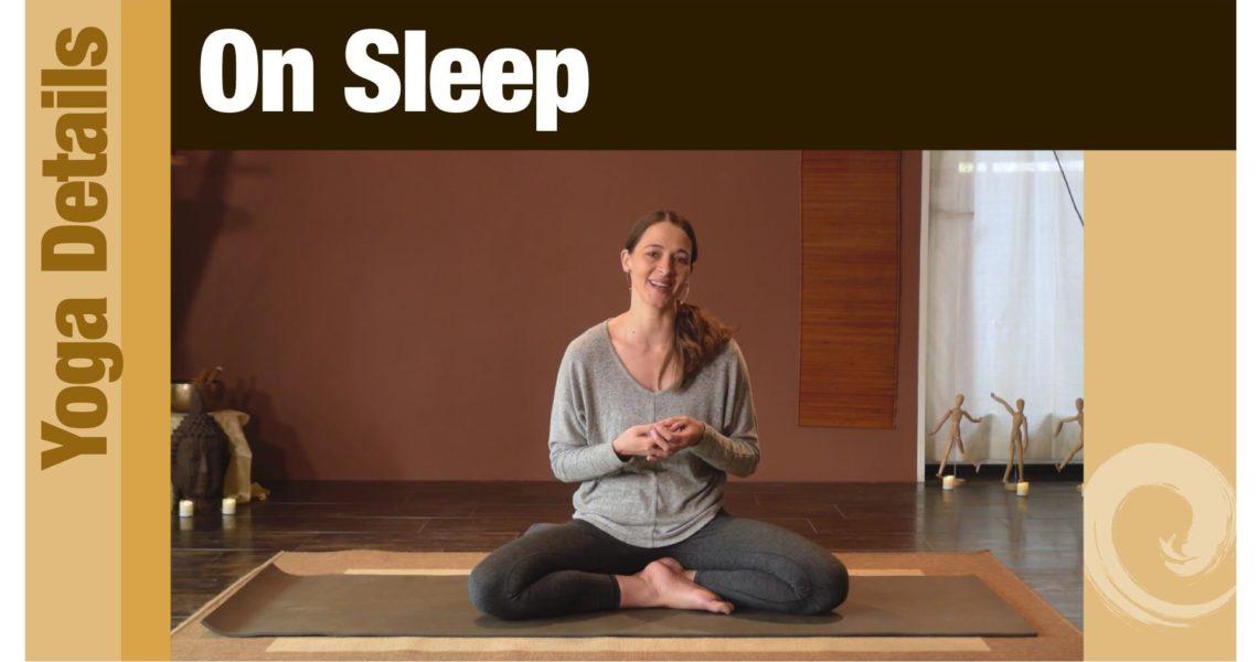 Yoga Details • On Sleep