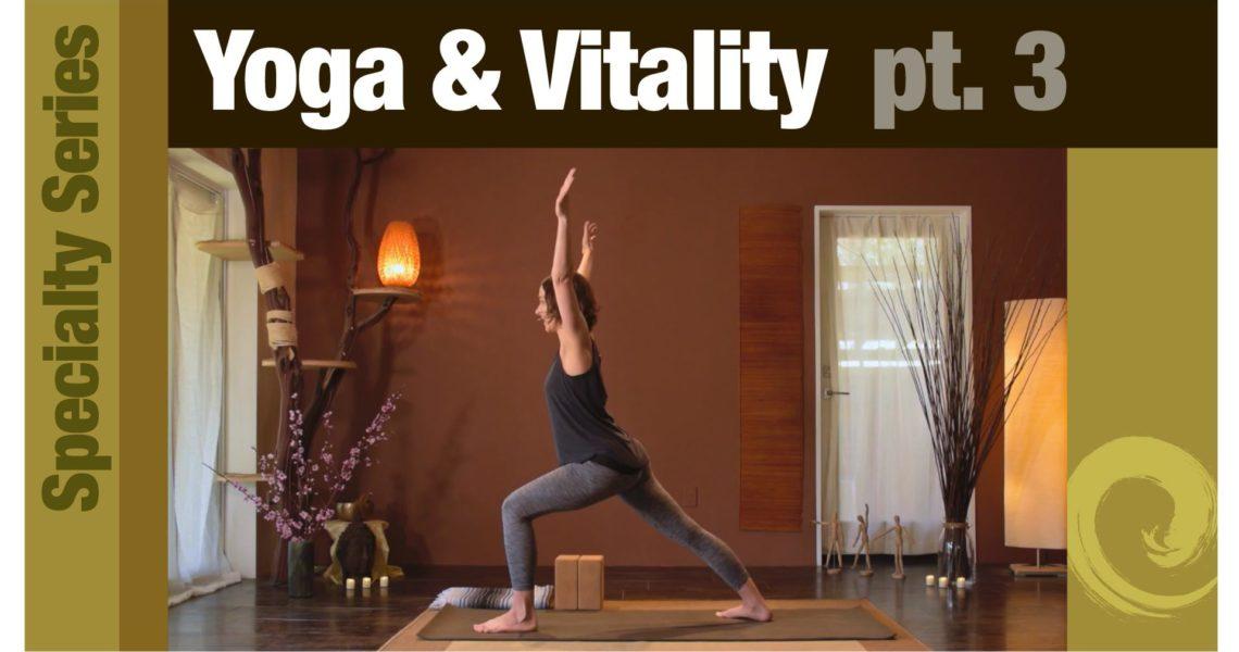 Series: Yoga for Vitality pt. 3