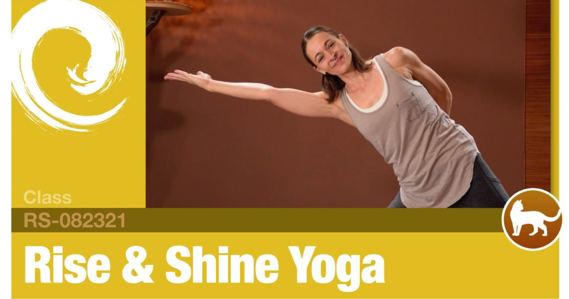 Rise & Shine Yoga • 08-23-21