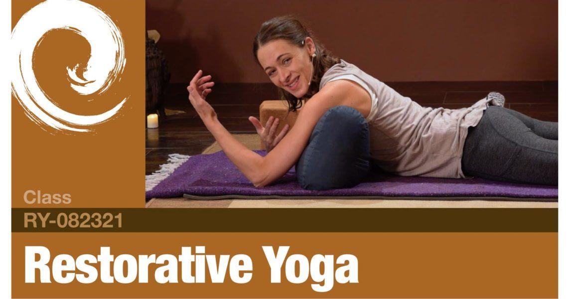 Restorative Yoga • 08-23-21