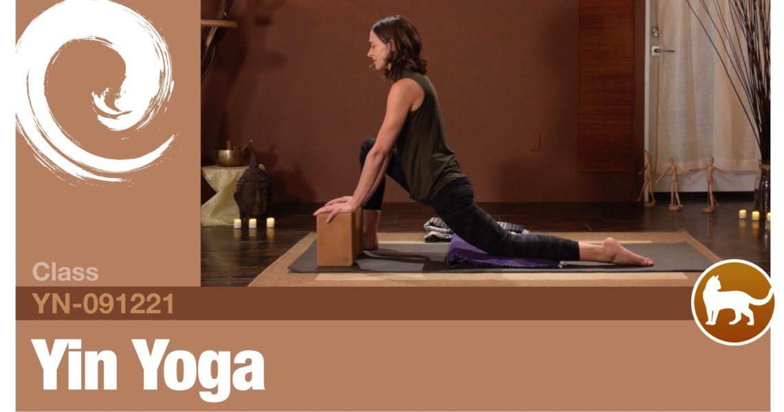 Yin Yoga • 09-12-21