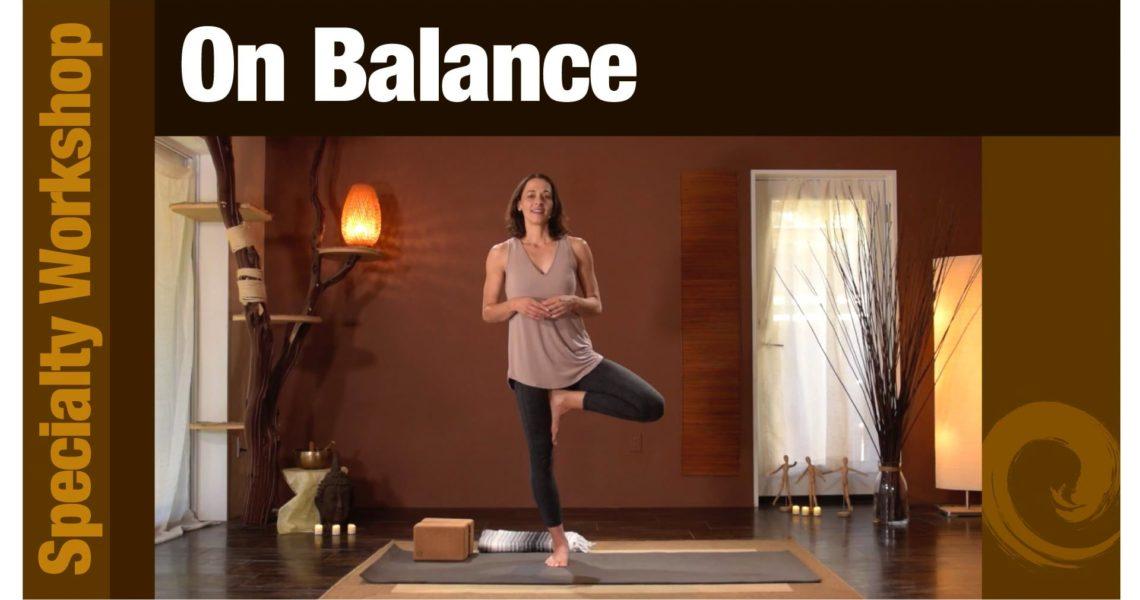 Workshop: On Balance
